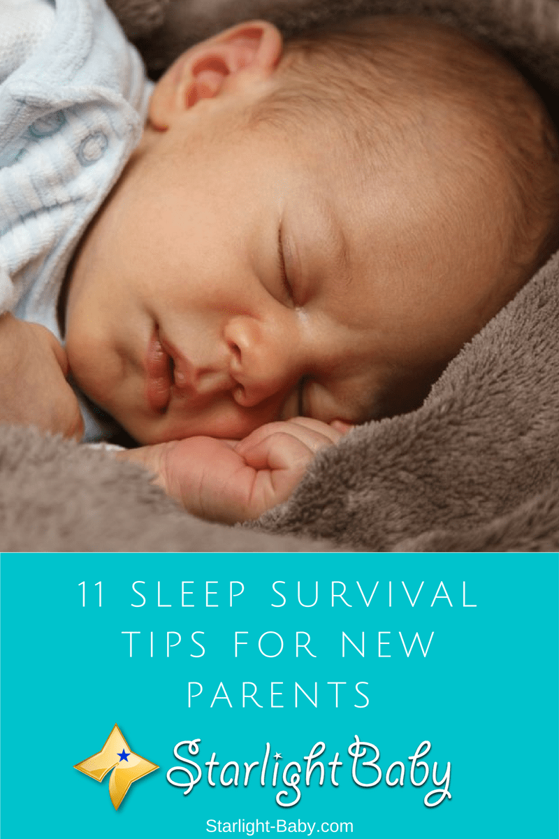 11 Sleep Survival Tips For New Parents