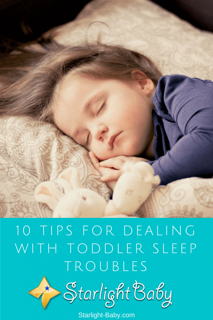 10 Tips For Dealing With Toddler Sleep Troubles