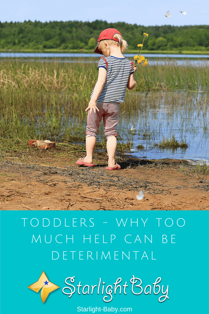 Toddlers Doing It For Themselves – Why Too Much Help Can Be Detrimental
