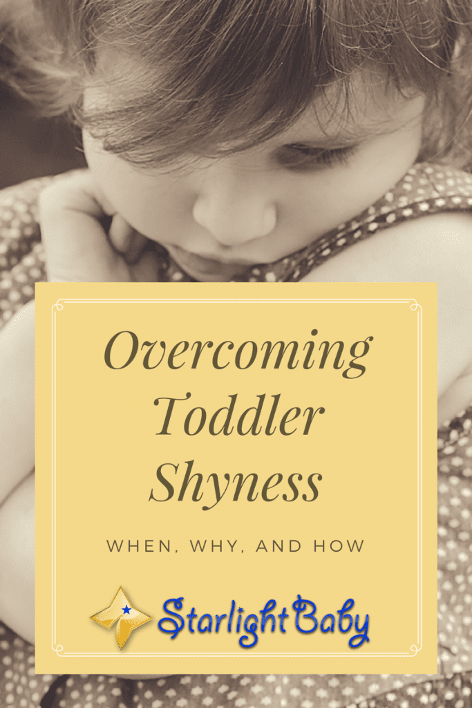 Overcoming Toddler Shyness - When, Why, And How