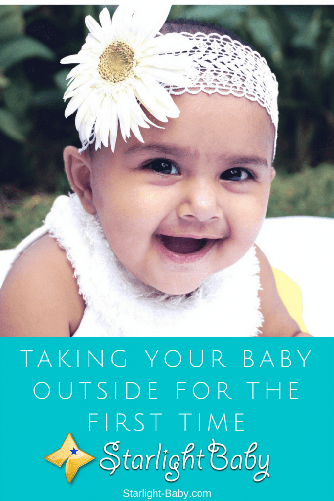 Taking Your Baby Outside For The First Time