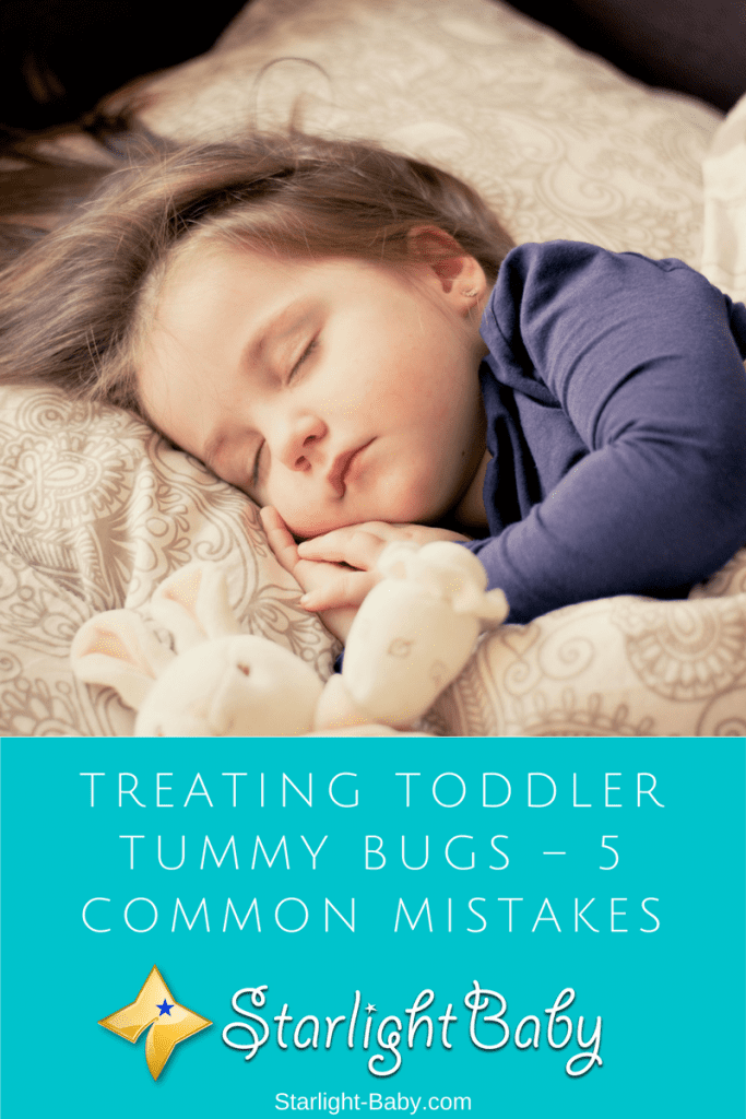 Treating Toddler Tummy Bugs – 5 Common Mistakes