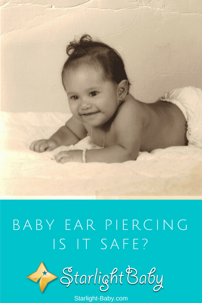 Baby Ear Piercing – Is It Safe? (Photo Credit: Luz)