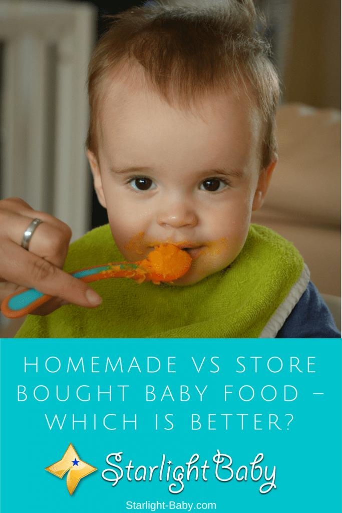 Homemade Vs Store Bought Baby Food – Which Is Better?