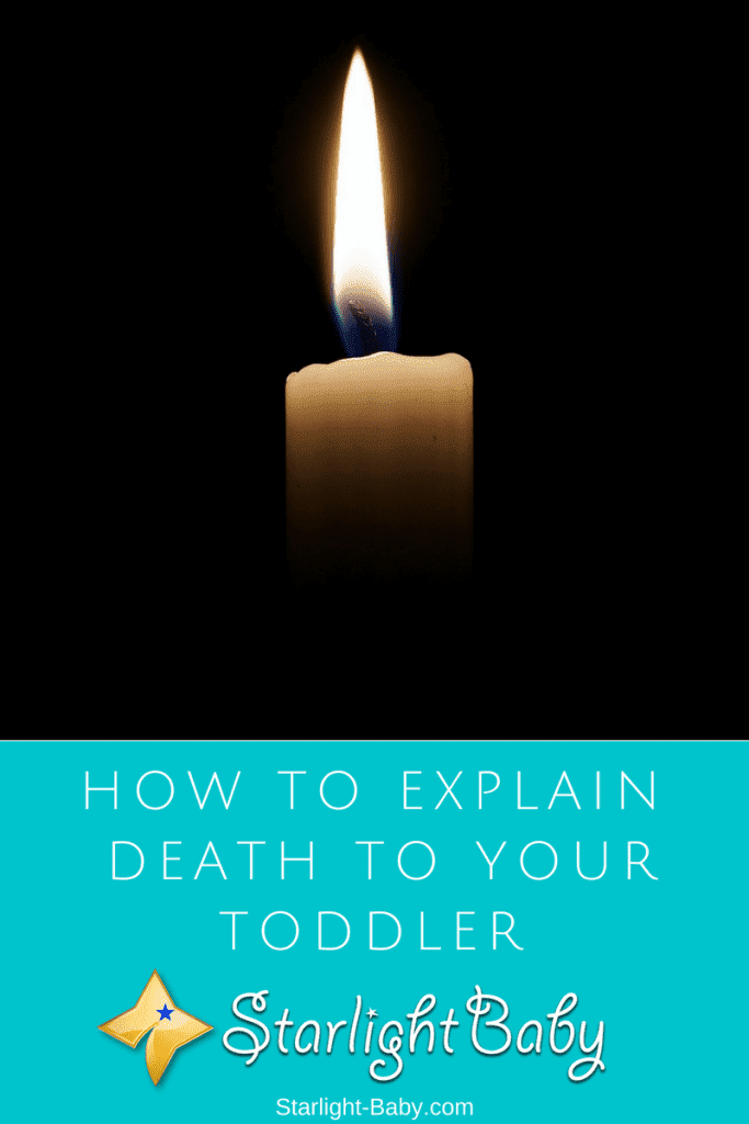 How Do I Explain Death To My Toddler?