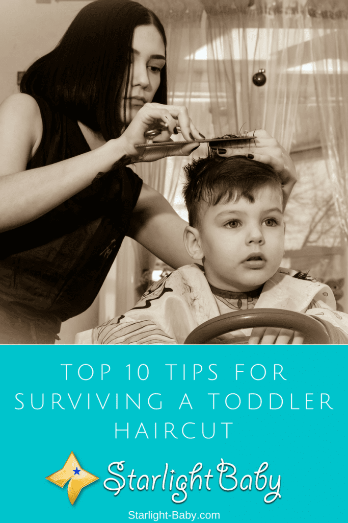 Top 10 Tips For Surviving A Toddler Haircut
