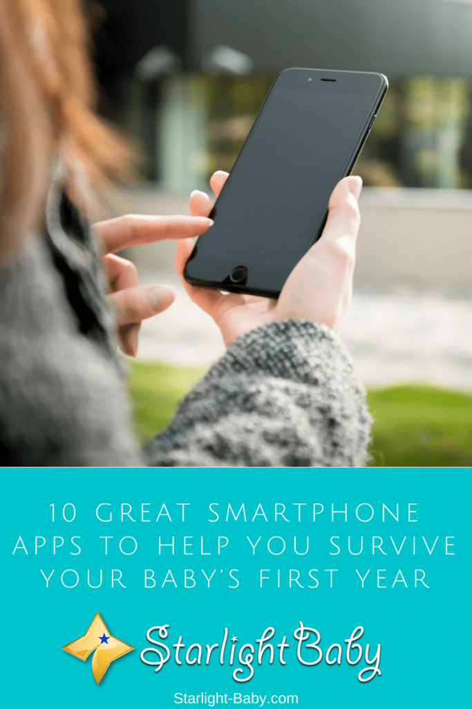10 Great Smartphone Apps To Help You Survive Baby's First Year