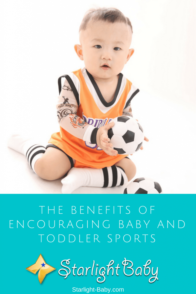 The Benefits Of Encouraging Baby And Toddler Sports