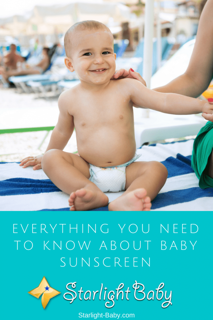 Everything You Need To Know About Baby Sunscreen