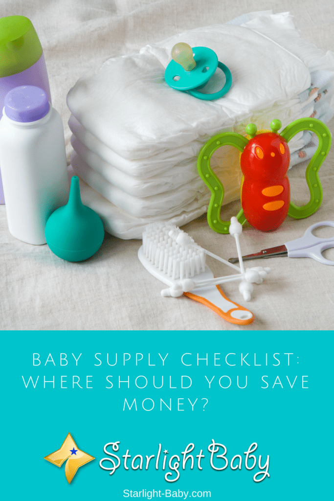 Baby Supply Checklist: Where Should You Save Money?