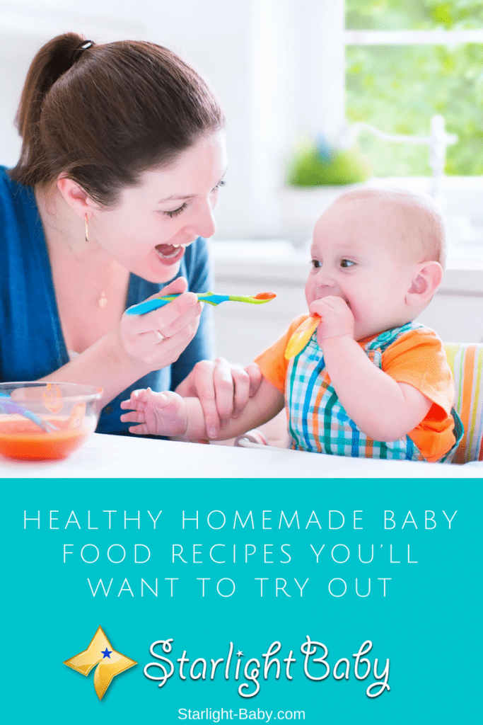 Awesome Homemade Baby Food Recipes You'll Want To Try Out