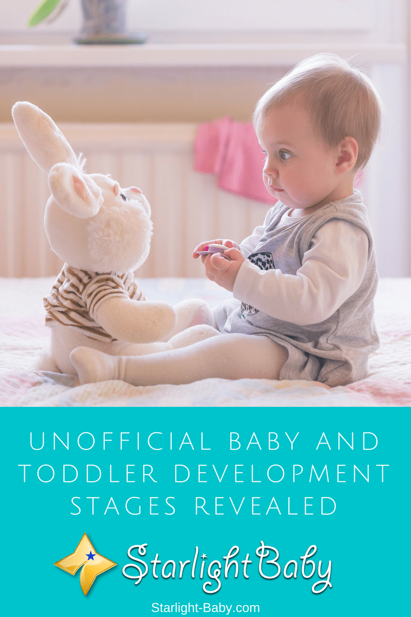 Unofficial Baby And Toddler Development Stages Revealed
