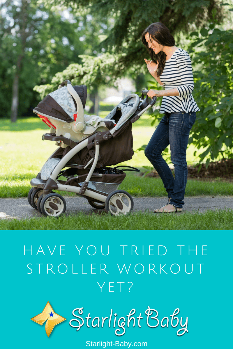 Have You Tried The Stroller Workout Yet?