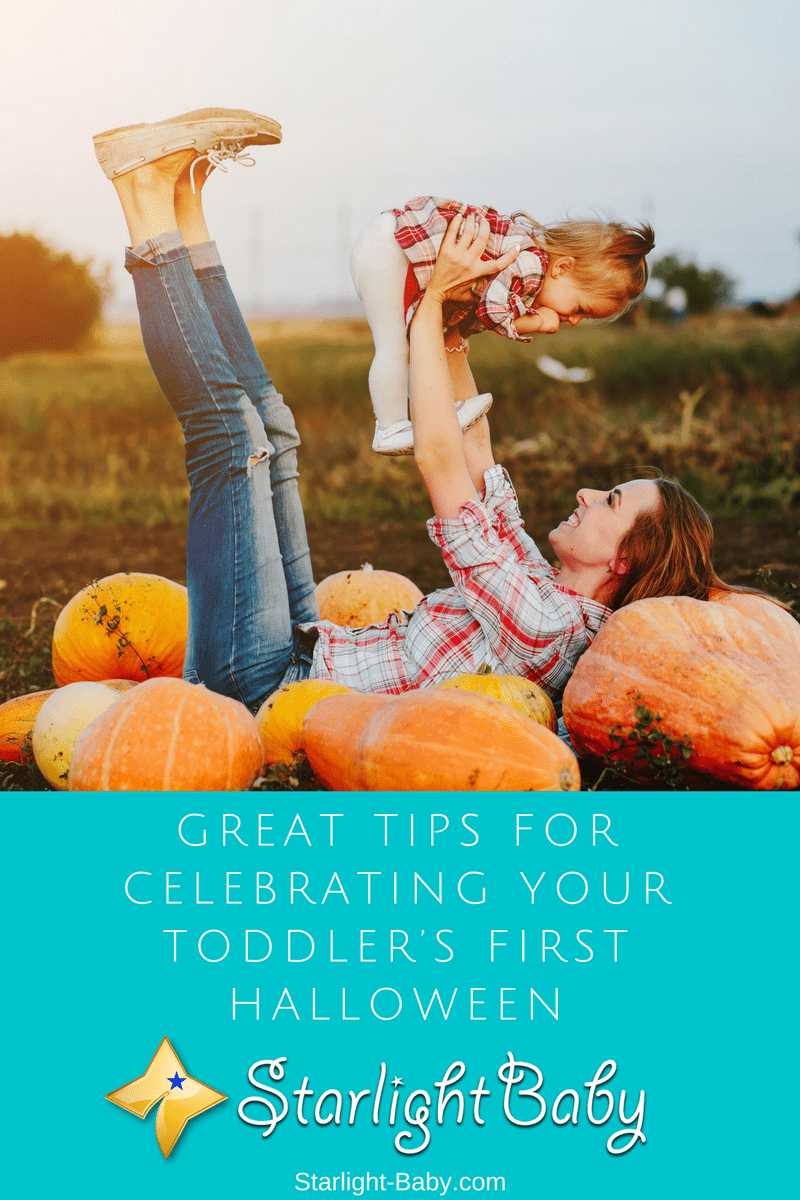 Great Tips For Celebrating Your Toddler's First Halloween