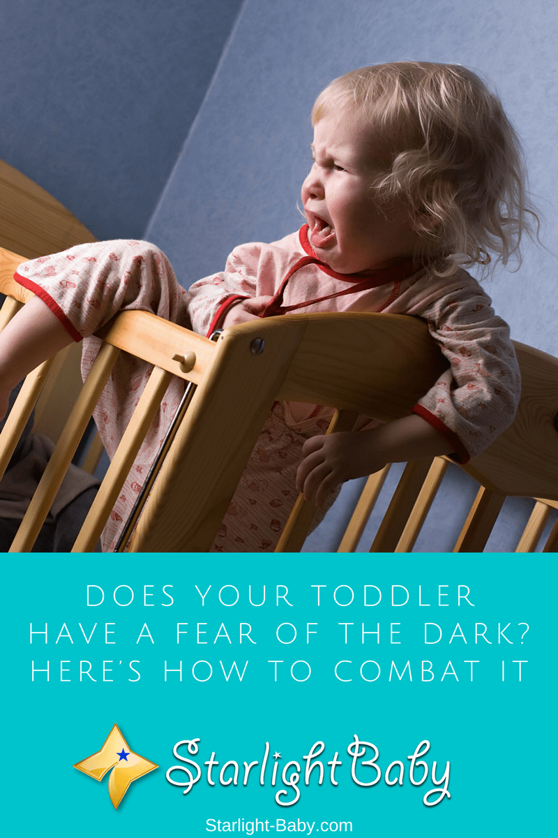Does Your Toddler Have A Fear Of The Dark? Here's How to Combat It