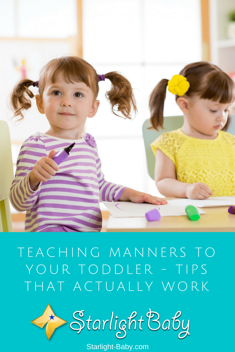 Teaching Manners To Your Toddler - Tips That Actually Work