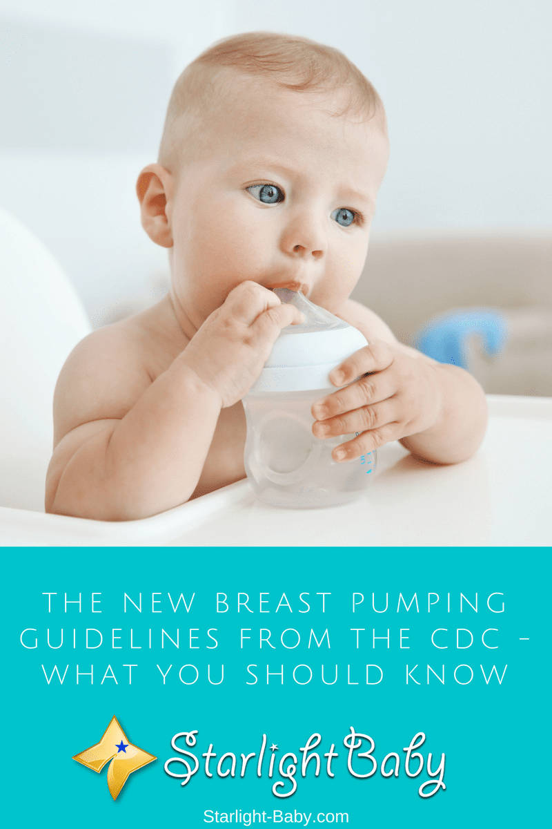 The New Breast Pumping Guidelines From The CDC - What You Should Know