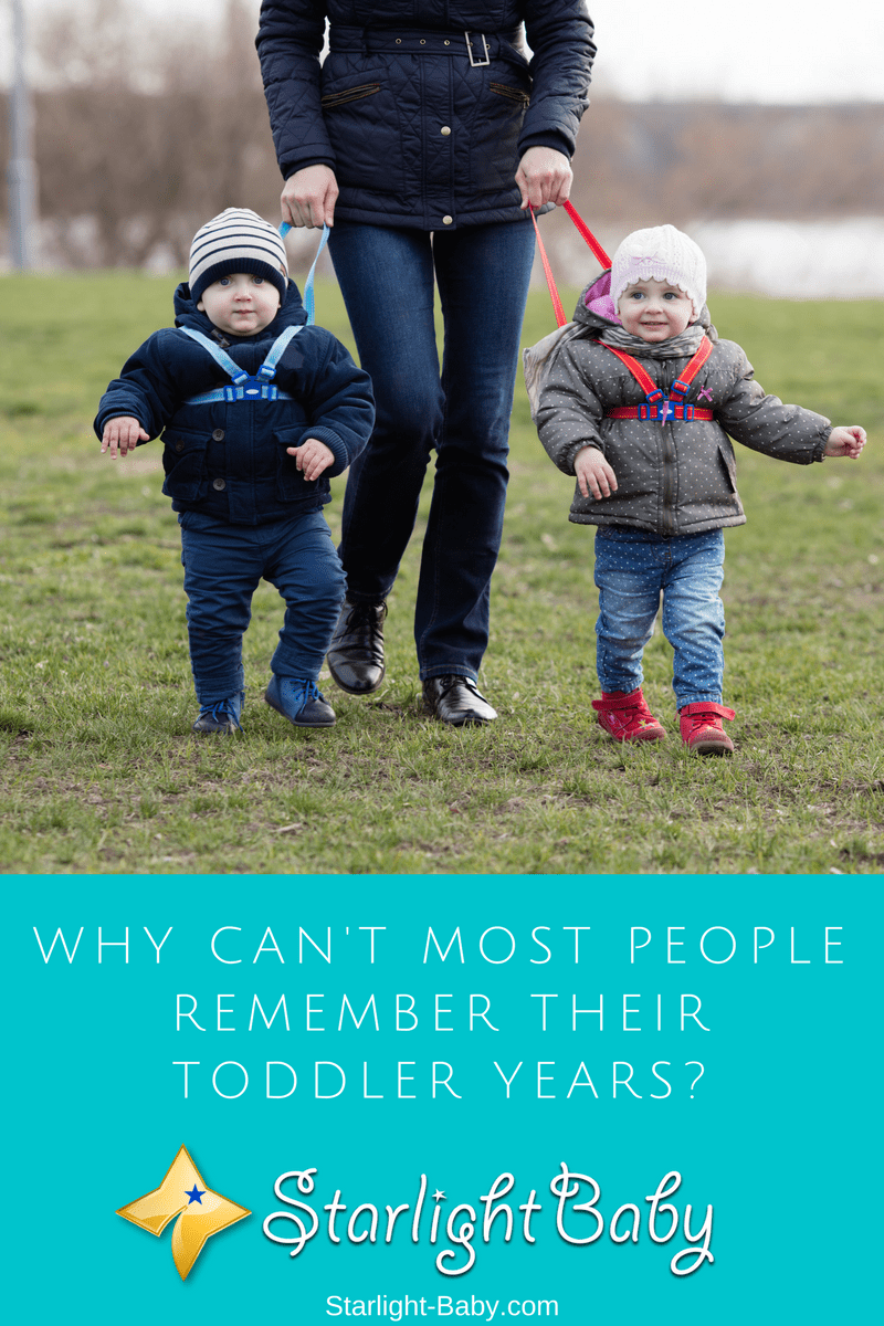 Why Can't Most People Remember Their Toddler Years?