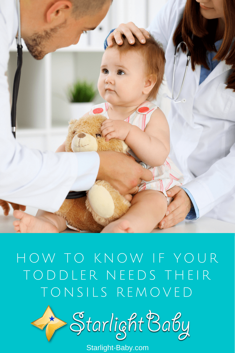 How To Know If Your Toddler Needs Their Tonsils Removed