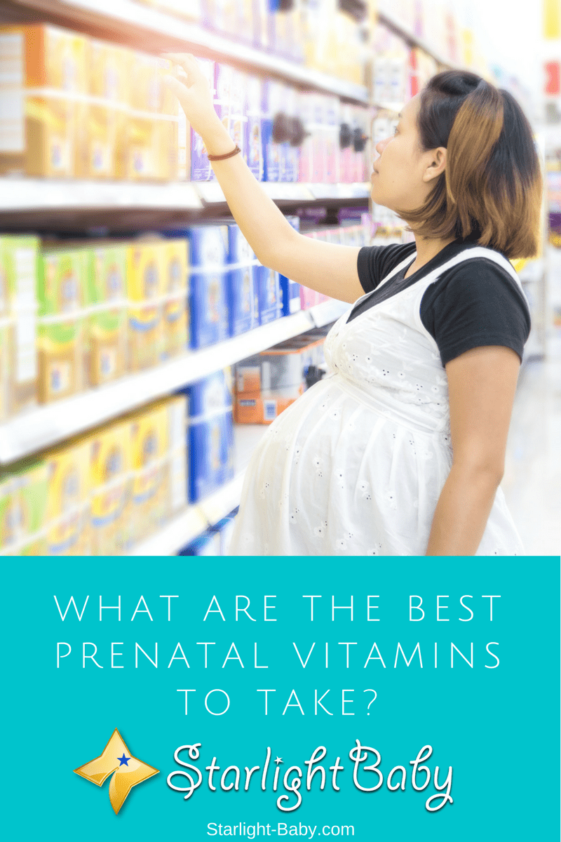 What Are The Best Prenatal Vitamins To Take?