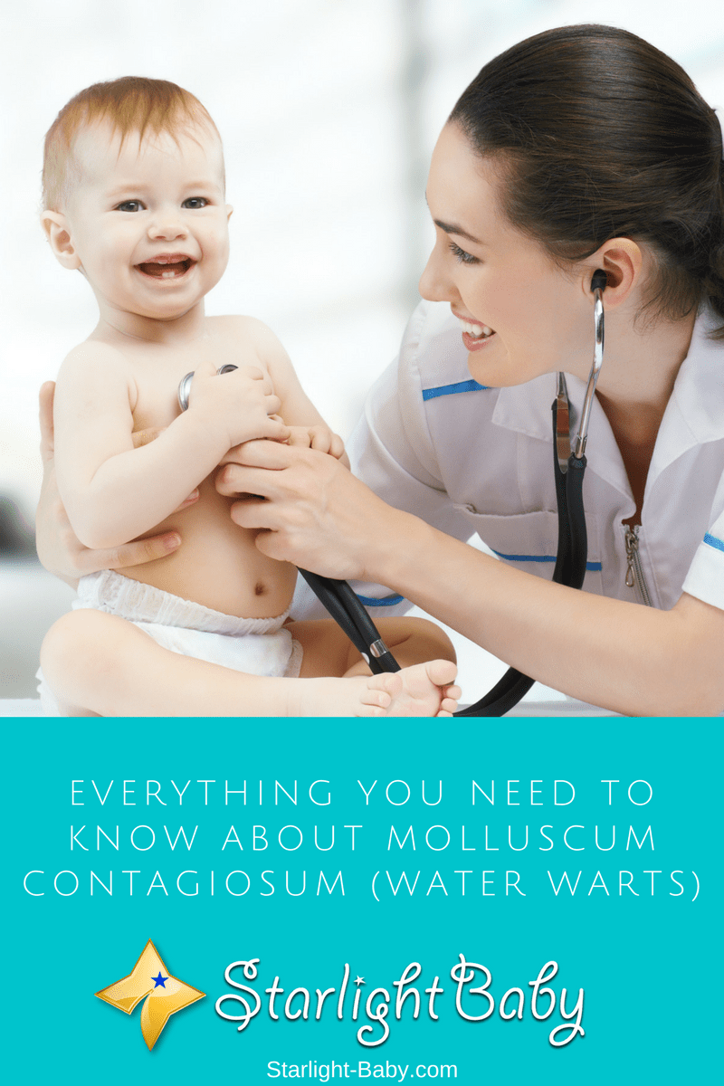 Everything You Need To Know About Molluscum Contagiosum (Water Warts)