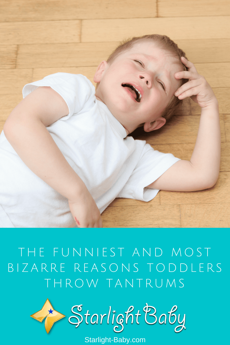 The Funniest And Most Bizarre Reasons Toddlers Throw Tantrums
