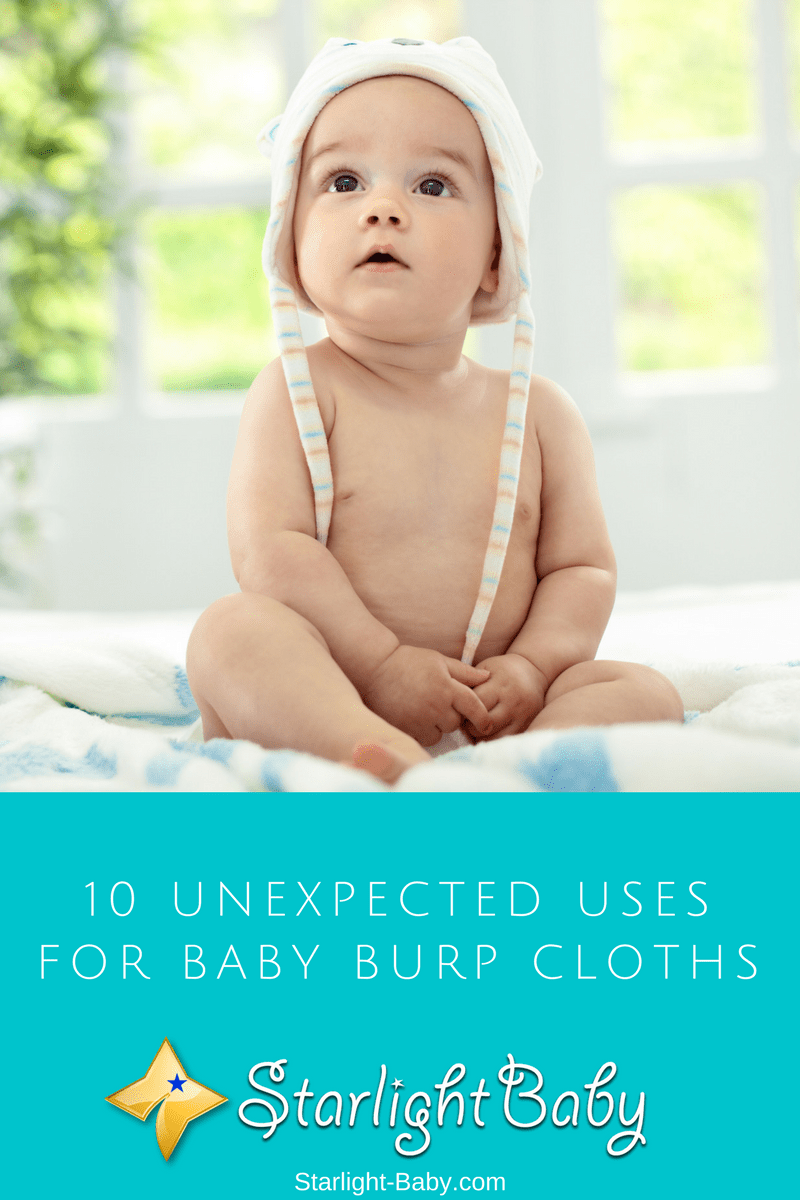 10 Unexpected Uses For Baby Burp Cloths