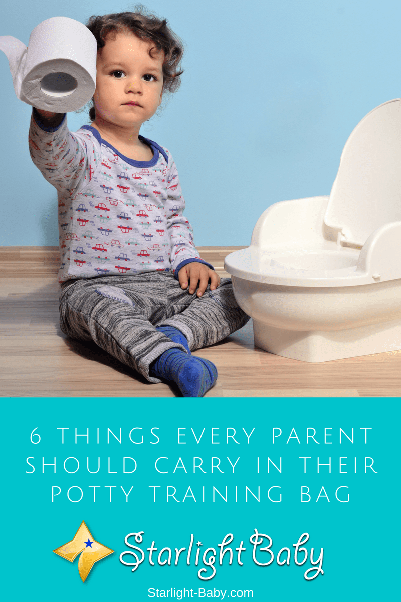 6 Things Every Parent Should Carry In Their Potty Training Bag