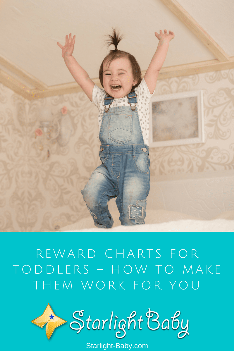 Reward Charts For Toddlers – How To Make Them Work For You