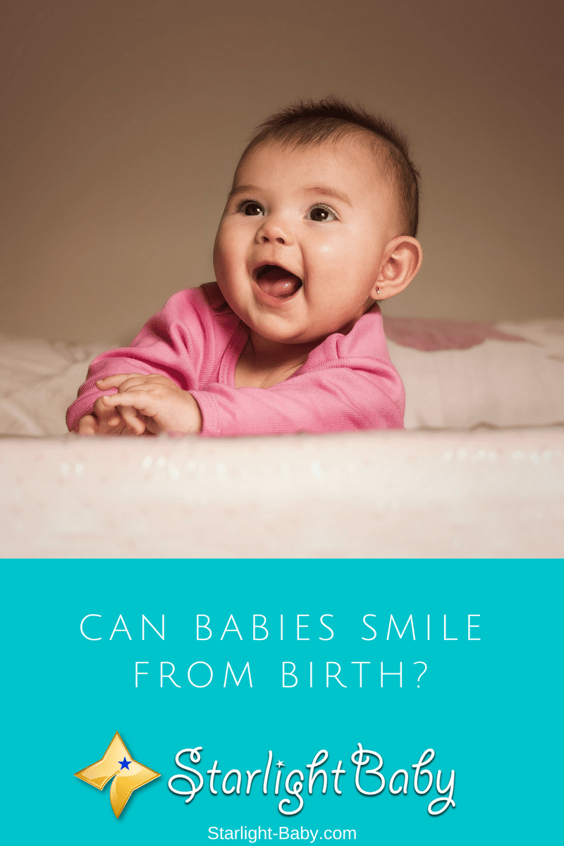 Can Babies Smile From Birth?