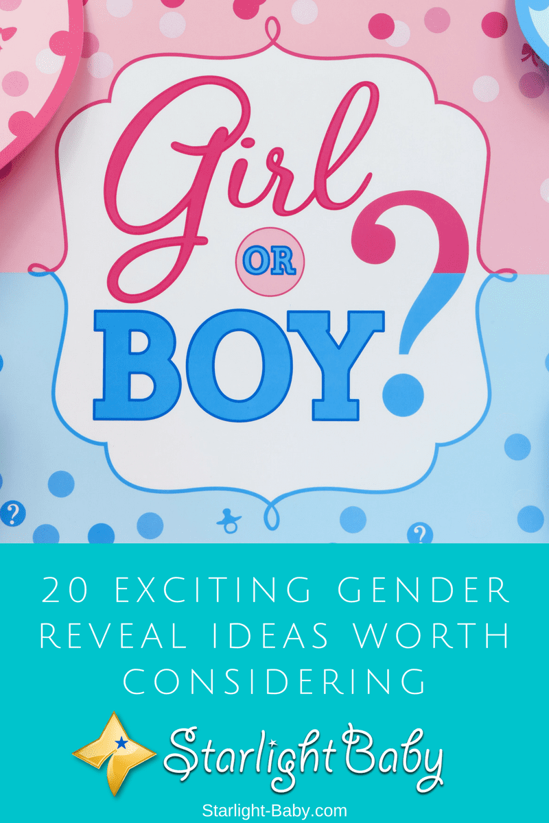20 Exciting Gender Reveal Ideas Worth Considering