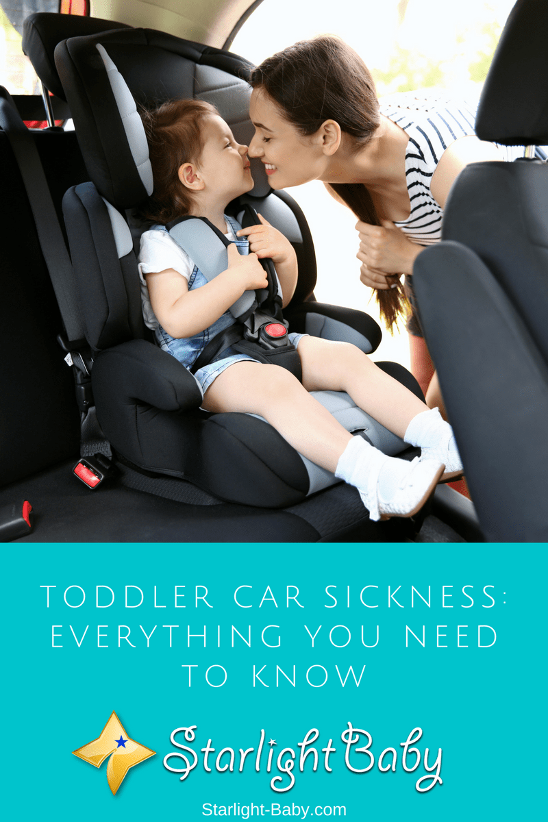 Toddler Car Sickness: Everything You Need To Know