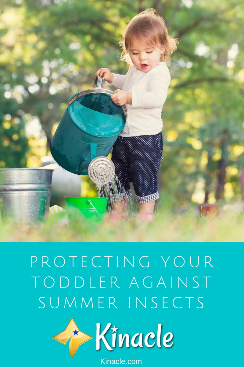 Protecting Your Toddler Against Summer Insects