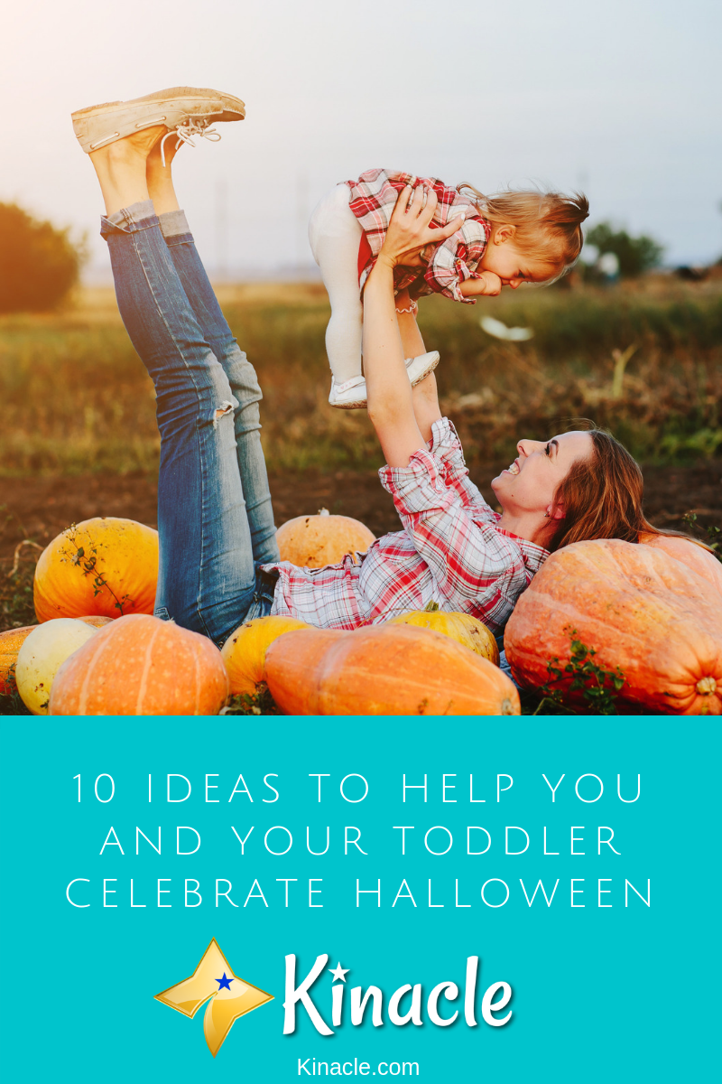 10 Ideas To Help You And Your Toddler Celebrate Halloween