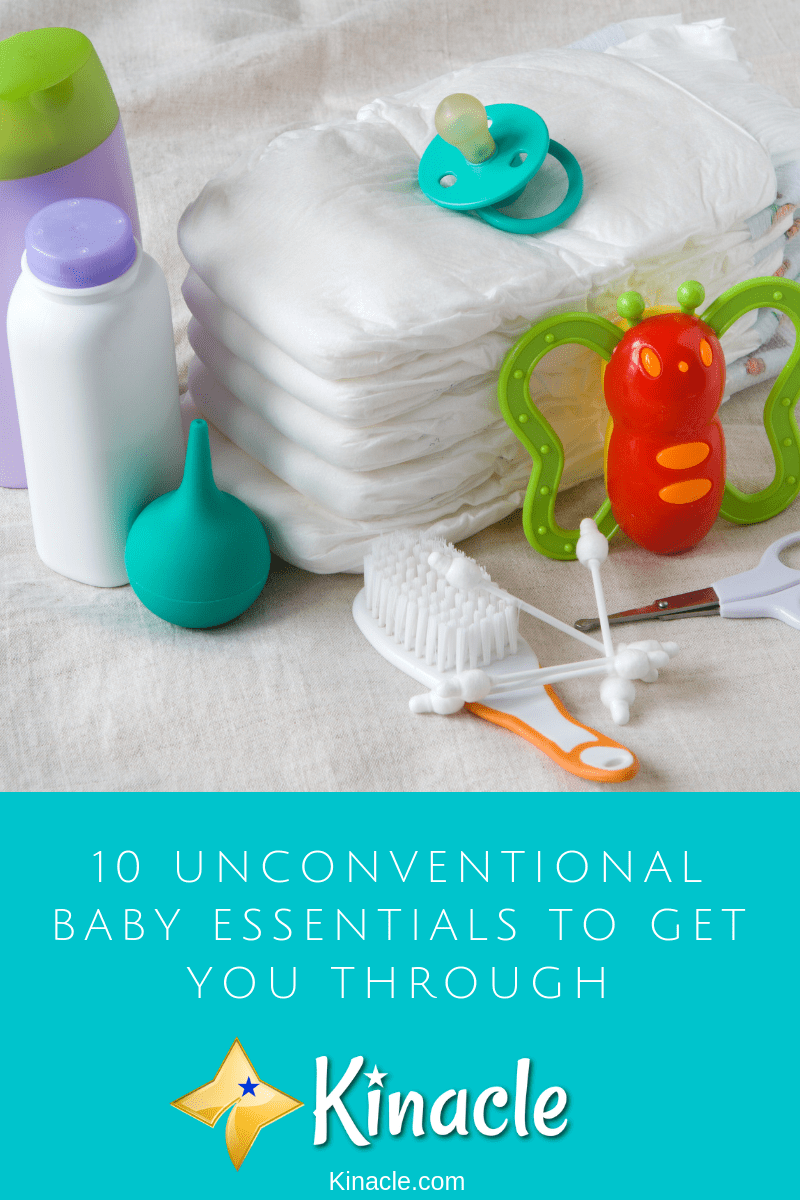 10 Unconventional Baby Essentials To Get You Through