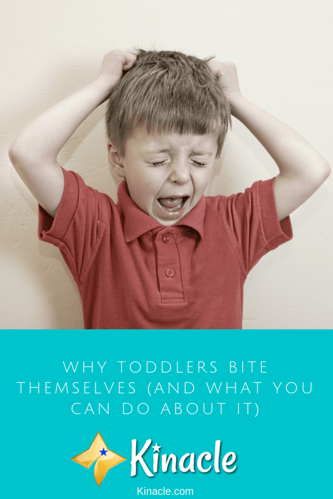 Why Toddlers Bite Themselves (And What You Can Do About It)