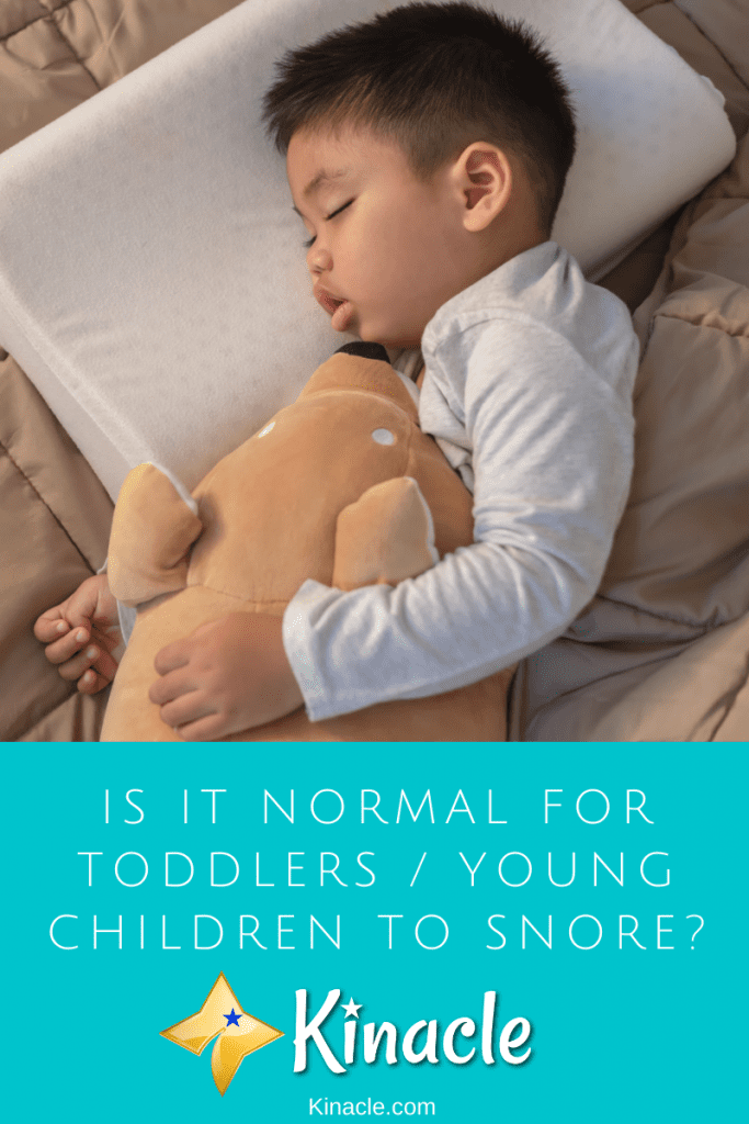 Is It Normal For Toddlers / Young Children To Snore?