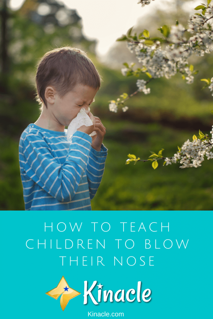 How To Teach Children To Blow Their Nose