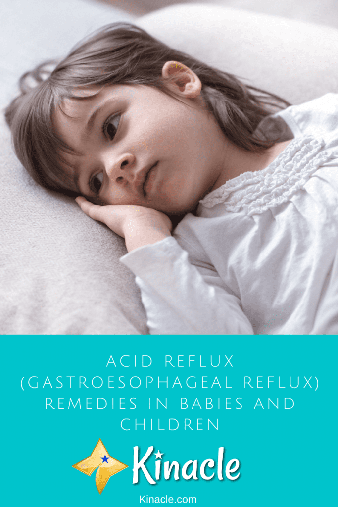 Acid Reflux (Gastroesophageal Reflux) Remedies in Babies and Children